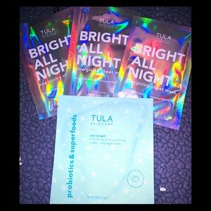 3 for $25 Tula 4 piece mask set